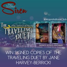 The Traveling Duet series giveaway at The Scarlet Siren.  #MoprahsBookClub