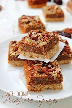 Pecan Pie Squares!!! #paleo #earlythanksgiving #addictive #pecannut
