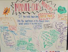 MARVEL-ous Monday -- whiteboard wisdom