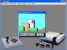 UberNES and NES Screen Saver. With enough .NES files, you could make a screensaver out of an actual NES game.