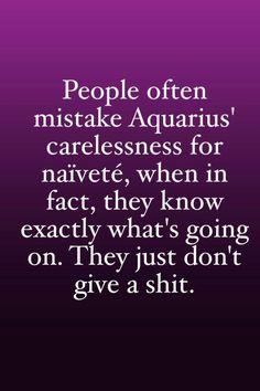 Aquarius I am an Aquarian that's about me :) Aquarius Traits, Astrology Aquarius, Aquarius Love, Aquarius Quotes, Aquarius Woman, Age Of Aquarius, Zodiac Signs Aquarius, My Zodiac Sign, Astrology Signs