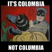 #ItsColombiaNotColumbia  http://spanishplans.org/2012/07/20/colombia/