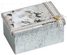 box-angel Decorative Boxes, Angel, Romantic, Home Decor, Homemade Home Decor, Angels, Romance Movies, Decoration Home, Decorative Storage Boxes