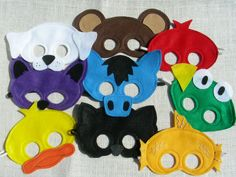 Brown Bear Mask Pack.