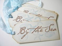 Flip side of Love tag with wedding date added. Seating - take home  idea.... love this font