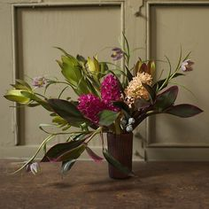 Flowers Inspired by Gaugin, by The Ladies of Foret #floral #flowers #diy