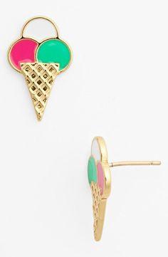 yummy ice-cream earrings!
