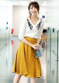 Women S Fashion Mail Order Product Short Girl Fashion, Long Skirt Fashion, Modest Fashion, Fashion Pants, Fashion Outfits, Womens Fashion, Japanese Fashion, Asian Fashion, Uniqlo Style