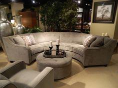 Circular Sectional Sofa   Las Vegas Furniture Market 2013   Interior Design Blog