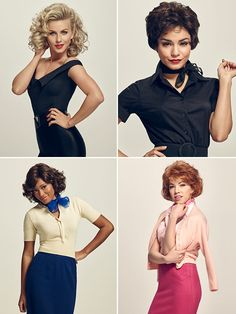 We are so excited for 'Grease: Live' to finally air on FOX on Jan. To get us even more excited for the live televised performance, we put together all of the best costumes from the show. Which look was your favorite? Costume Halloween, 50s Costume, Hippie Costume, Wolf Costume, Couple Halloween, Grease Outfits, 50s Outfits, Sock Hop Outfits, Nerd Costumes
