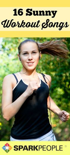 16 Sunny Workout Songs for Spring via @SparkPeople