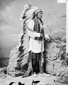 He Dog 1875. Oglala