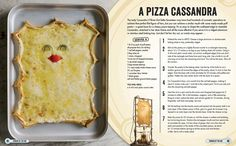The Official Doctor Who Cookbook is released in the UK & US this month!  Check out a recipe for A Pizza Cassandra here and grab your copy today!