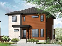 220 Best Narrow Lot House Plans Images In 2019 Narrow