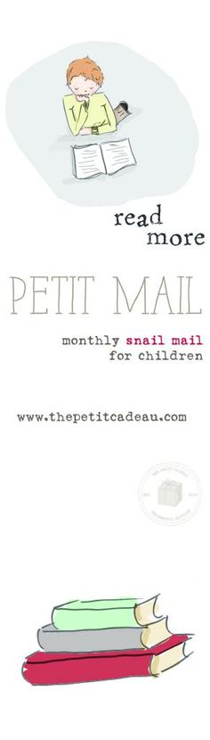 My illustrations with the Petit Cadeau September #petitmail - monthly #snailmail subscription for children