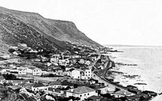 Kalk Bay Looking North 1915 Old Pictures, Old Photos, Cape Town South Africa, Travel Brochure, Most Beautiful Cities, Historical Pictures, African History, Old City, City Photo