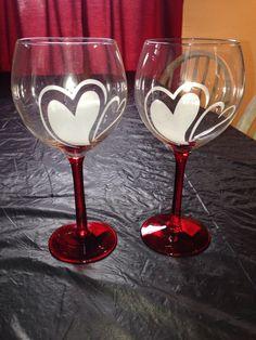 New wine glasses #acmefind #perfect #love