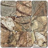 """Found it at Wayfair - MSI 1"""" x 1"""" Tumbled Marble Mosaic in Café Forest"""