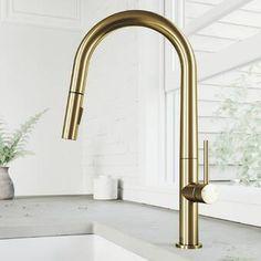 Kraus Artec Pro Pull Down Single Handle Kitchen Faucet & Reviews | Wayfair
