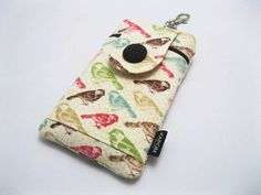 SOLD OUT - Fabric iPhone 5 5s 5c Case iPod 5 gen case Smart by KapomCrafts, $21.00