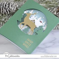 Today we are sharing a clever tip for how to make tri-fold winter cards with no specially sized card stock or specialty bases. It's so fun and easy and we just know you will become addicted - come see!