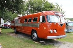 vintage flxible bus
