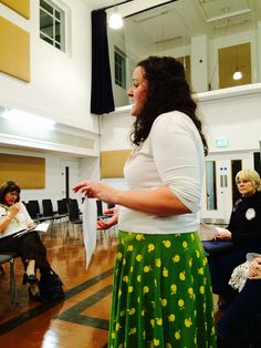 @pegum86 introducing Cottonopolis WI to prospective members at our pre formation meeting