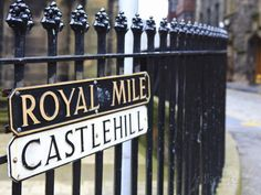 Royal Mile, Edinburgh, Lothian, Scotland, Uk Photographic Print at AllPosters.com