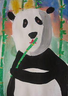 Painted Pandas