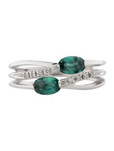 Alexandrite and Diamond Ring - Fine Jewelry - FJR21243 | The RealReal