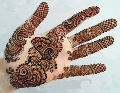 Best Pakistani 2016 Mehndi Designs Collection For Girls