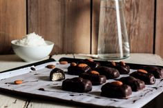 Almond Joy Candy Bars - for a coconut lover like me, this is heaven!