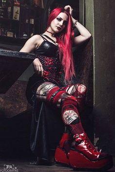 Model & MUA: Señorita Klaha Photo: JPA Fotografias Welcome to Gothic and Amazing |www.gothicandamazing.com