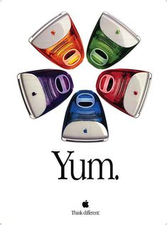 Print Advertising : I had the purple one at one time...it was the first apple product i ever owned Print Advertising Campaign Inspiration  I had the purple one at one time…it was the first apple product i ever owned  Advertisement   Description  I had the purple one at one time…it was the first apple product i ever owned   Don't forget to share the post, Sharing is love !