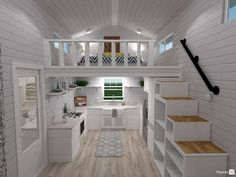 Log cabins 841469511614493080 - Architecture Tiny House Kitchen One Ideas Planner Pertaining To Home Furniture Design 9 Faux Wood Flooring Lowes Bathroom Vanity Lights Fillable Lamp Base Blue And Brown Comforter Rustic Coffee Table Set – cicek Source by Tiny House Loft, Modern Tiny House, Tiny House Living, Tiny House Plans, Tiny House Design, Tiny Houses, Tiny House With Stairs, Tiny House Office, Loft Office