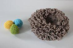 ༺༺༺♥Elles♥Heart♥Loves♥༺༺༺ ........♥Crochet Amigurumi♥........ #Amigurumi #Patterns #Crochet #Softies #Childrens #Toys #Handmade #Teddy #Doll #Tutorial #Patterns #Collectable~ ♥Creations by Doorns Bird's Nest With Eggs