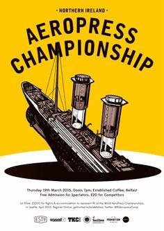 2015 Northern Ireland Aeropress Championship
