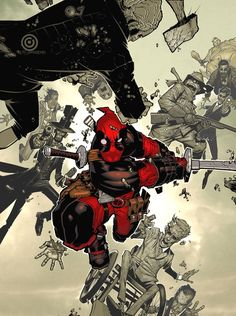 brianmichaelbendis: Deadpool #1 Variant by Chris Bachalo