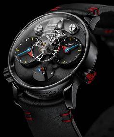 La Cote des Montres : La montre MB&F LM1 Silberstein - Haute horlogerie, hautement ludique