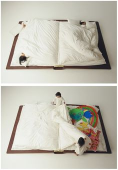 The Storybook Bed