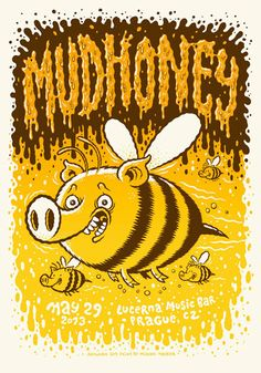 GigPosters.com - Mudhoney