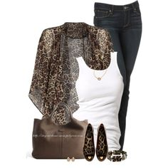 """Loving Leopard"" by stay-at-home-mom on Polyvore"