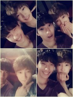 세븐틴 석민 & 운우 Seventeen DK and Wonwoo