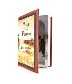 War and Peace - Hollow Book Safe