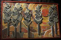 Gasch Design - lovely stone mosaic