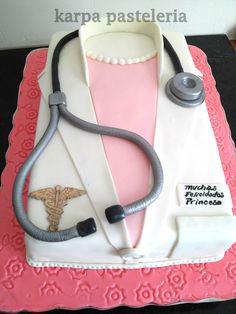 pastel para medicos
