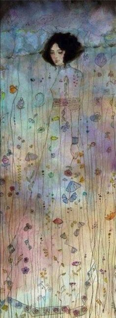 by guitarsally on deviantantart- like Gustav Klimt