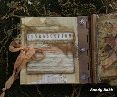 Quill Cottage: ELEMENTS OF NATURE, A HANDMADE ART BOOK...