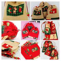 #christmasgift, #drawstringbag, #christmasdecor, #Christmasbag, #Christmaspouch, #holidaydecor, #giftwrap, #favorbag, #Christmasbagset , #presentsbag, #Christmassack, #christmasgiftideas