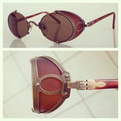 Vintage Matsuda 10610 Sideshield Sunglasses Steampunk... Ultra Rare Japan
